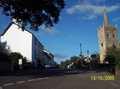 The Red Lion & Sidbury Church
