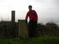 proping myself up on the trigpoint