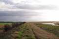View along the sea defences