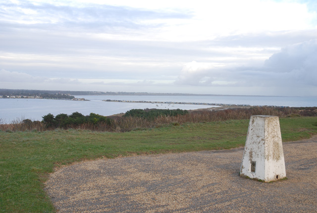 View north from Hengistbury Head