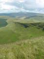 View east towards Pen Y Fan