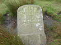 Boundry of Minerals stone dated 1839. half a mile to the south