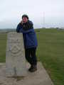 Mrs Dusty with memorial & toposcope