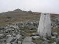 One of the 3 Cairns that make up Tair Carn Isaf from trigpoint