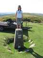 Little Fish standing atop of the Trig