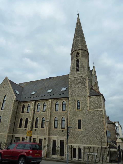 T:UK - Herne Bay Church Spire